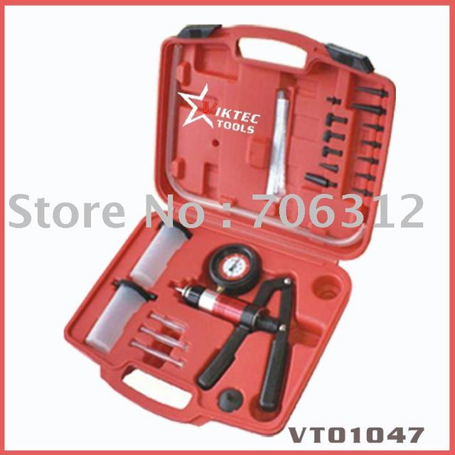 Automotive Tool Vaccum/Pressure Pump  & Brake Bleeding Kit Auto Equipment(VT01047)