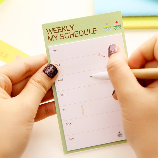 Weekly/Daily Planner (Memo Pad)