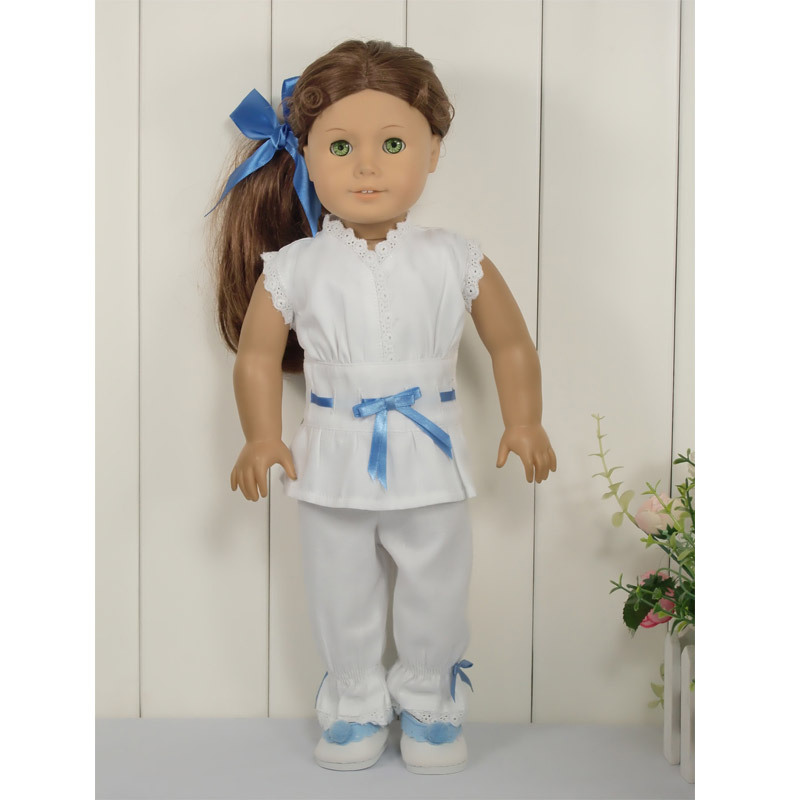 free shipping fashion 18 inch american girl doll clothes dolls clothing accessories for baby gift i977(China (Mainland))