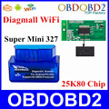 Super Mini Wifi Diagmall ElM 327 Wifi V1 5 OBD2 Car Diagnostic Tool OBD2 Scanner Interface