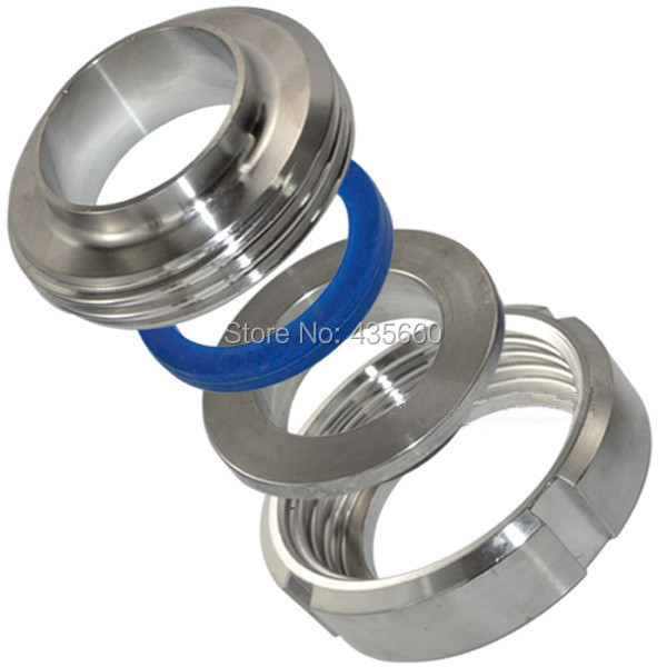 32MM 1-1/4'' Sanitary Weld Malleable Pipe Fittings Straight Union Coulping Stainless Steel SS304good price