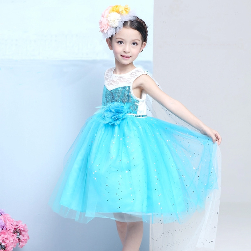 Princess Dress Kid Baby Girl Dress Girl Cosplay Cousume/Perform Party Dress For Shipping<br><br>Aliexpress