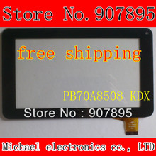 Y7Y007(86V) PB70A8508 KDX 7INCH capacitive touch screen digitizer panel for wolder mitab hop! All winner A13 tablet pc(China (Mainland))