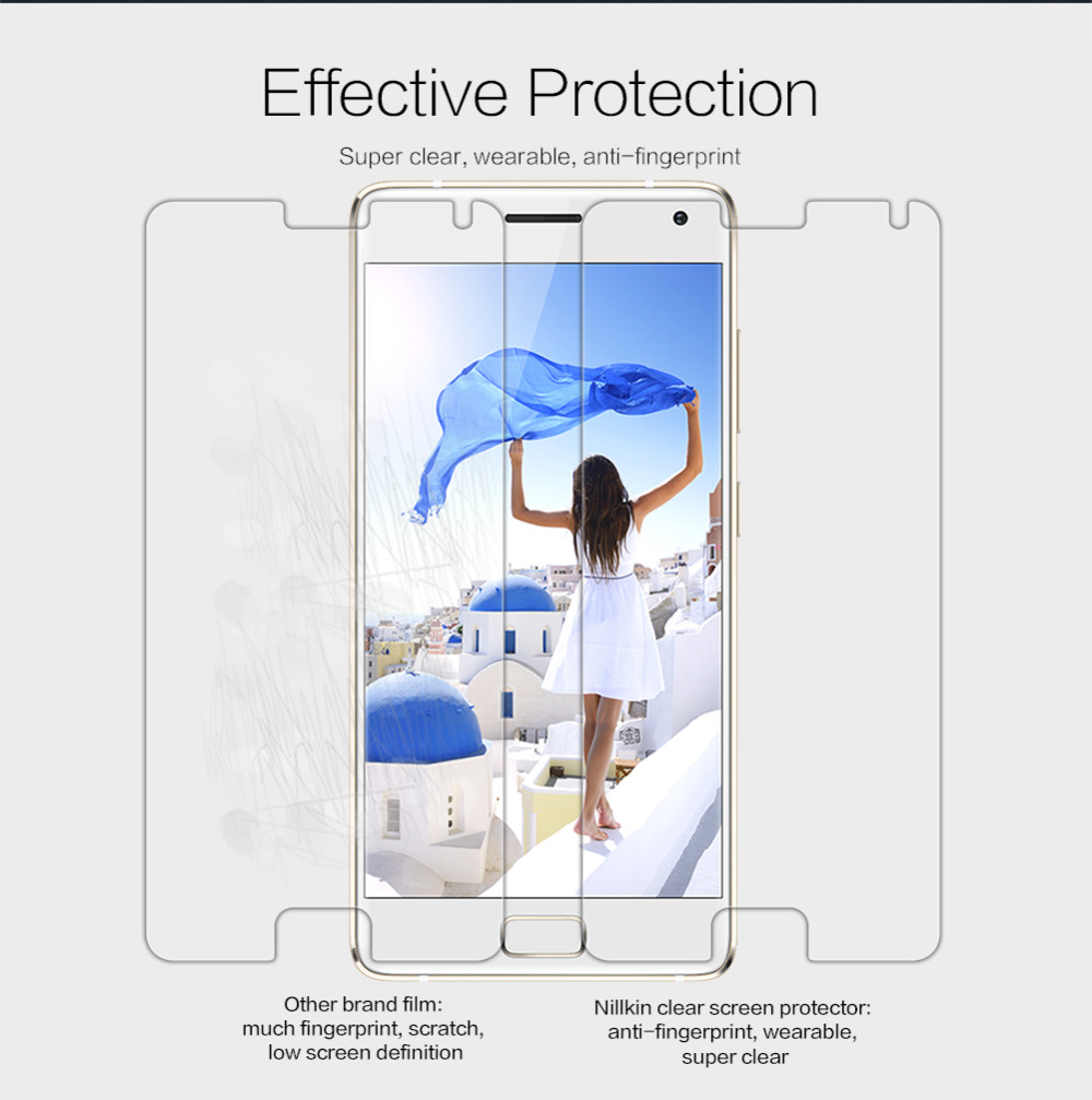 Nillkin film for Lenovo ZUK Z2 Pro screen protector clear HD Scrub Front film +Camera film for ZUK Z2 Pro Matte Protective Film