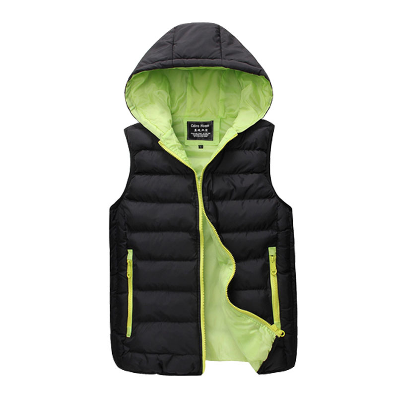 Slim big yards thick hooded vest men cotton solid color in autumn and winter 2015 Korean version of casual hot(China (Mainland))