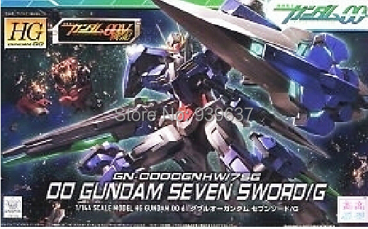GUNDAM 00 / HG 1/144/00 Seven Swords/4 inch/ Assembled Gundam Models Quality toy Free shipping(China (Mainland))