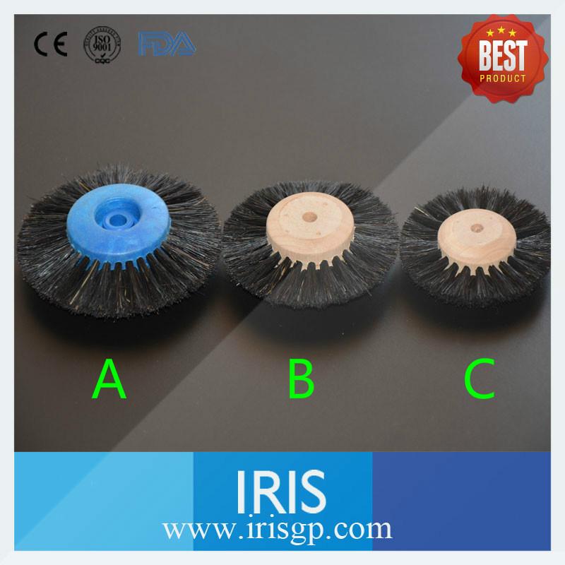 [IRIS] 10pcs/lot Free Shipping Dental Soft Rotary Polishing Hairbrush Wheel for Dental Polishing Cleaning