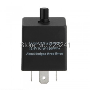 Electronic LED Flasher Relay Car Turn Signal Blinker Light 3Pin Adjustable - Shenzhen auto parts co., LTD store