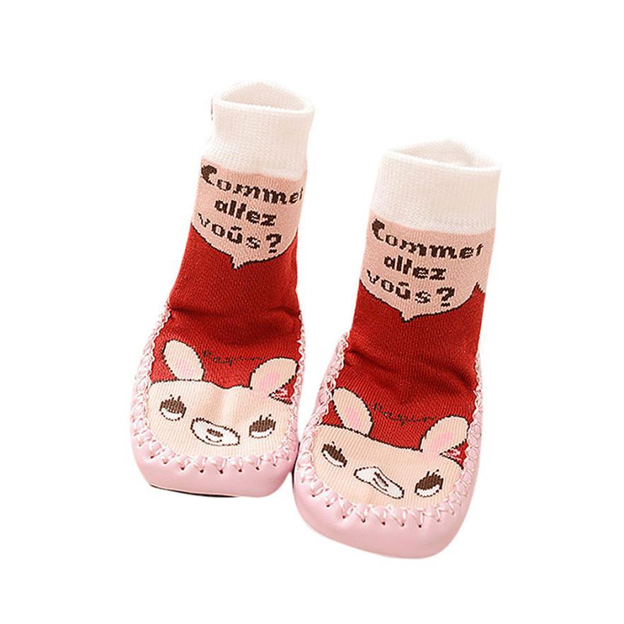 new born baby clothes children socks anti slip cotton cute infant rubber sole socks kids slipper socks meias infantil great(China (Mainland))