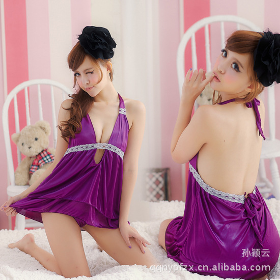 2014 Langerie Sexy Erotic Stripper Wear Lingerie Set The New Lace Nightgown Sexy Clothes Lingerie Temptation Suit Y002 Sex Drive(China (Mainland))