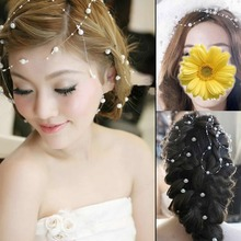 10Pcs/Lot New Bridal Jewelry Flower Wedding Hair Accessories Hairpin Multicolor Free Shipping