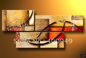 High Quality Modern Abstract Oil Painting on Canvas Art group oil paintings home decoration Art E-100 picture on wall