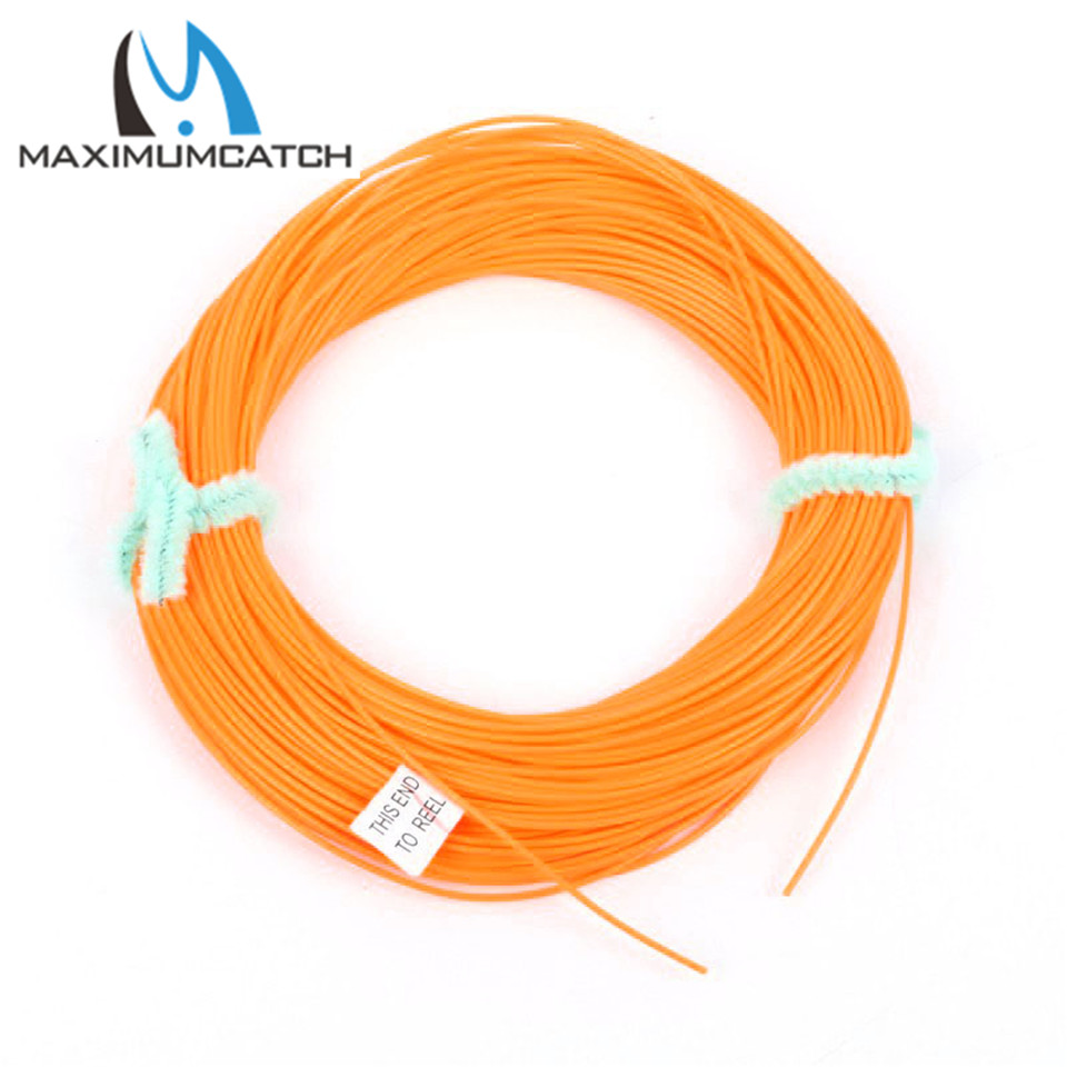 Newly-Come 0.9mm Fly Fishing Line Yellow Color 100FT Running Fly Line(China (Mainland))