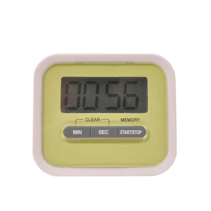 Free shipping! Digital timer large LCD screen digital timer, kitchen timer, timer countdown(China (Mainland))