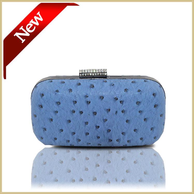 Evening Bag Lady Women Navy blue clutch bag hard case Party Wedding Box clutch bag Purses Fashion Elegant Cute Shoulder Bag#6121(China (Mainland))