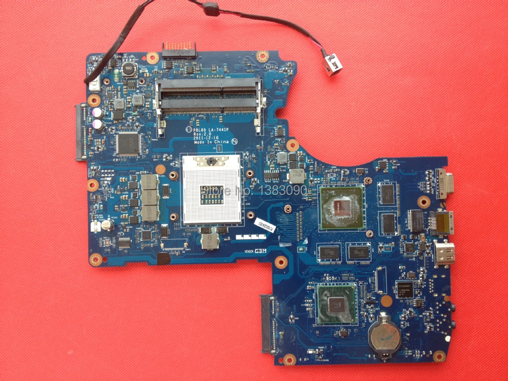 High quanlity For ASUS K93SM GT 630M Laptop Motherboard PBL80 LA-7441P REV:2.0 100% Tested Fast Ship(China (Mainland))