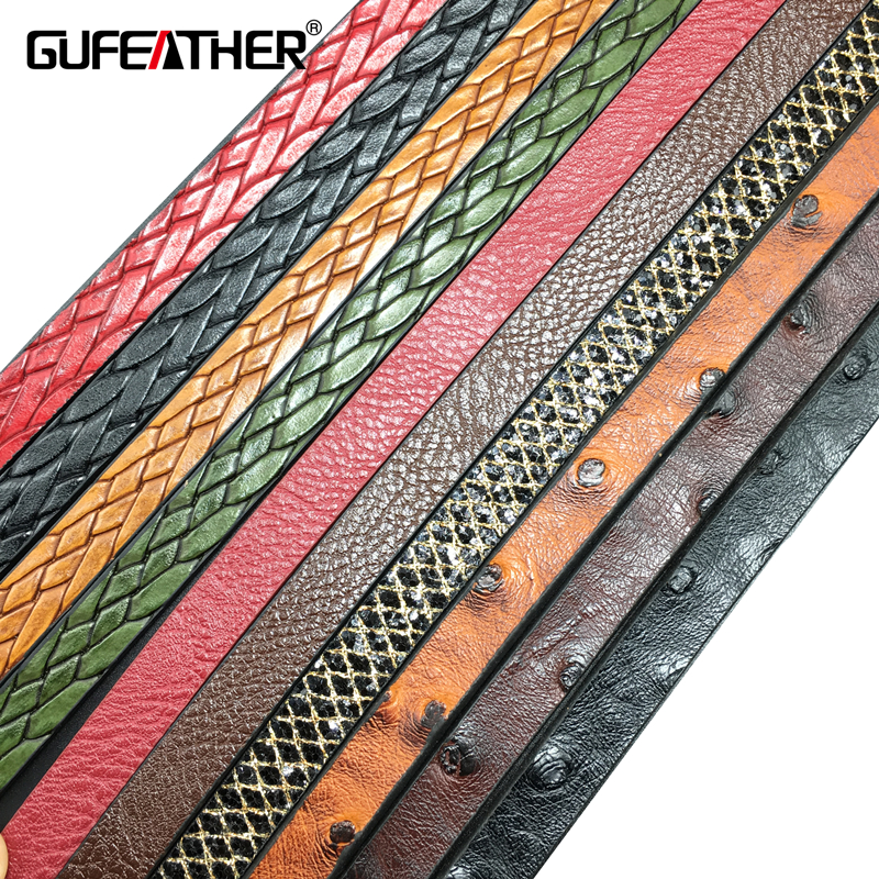 GUFEATHER jewelry accessories/pu Leather cord/diy choker/jewelry findings components leather bracelet material/leather cords