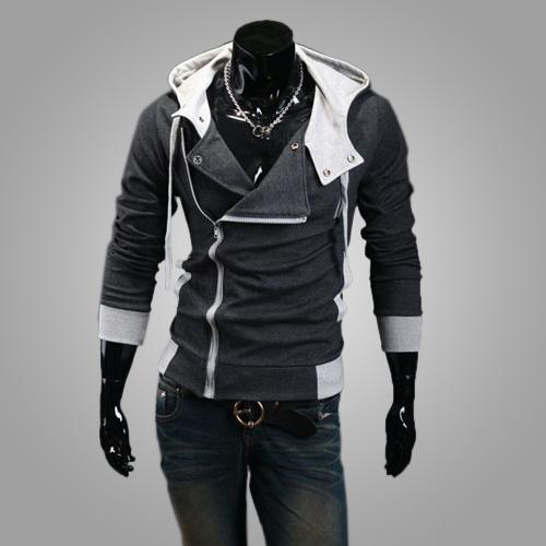 9colors M-6XL 2015 Hoodies Men Sweatshirt Male Tracksuit Hooded Jacket Casual Sports Male Hooded Jackets moleton Assassins Creed(China (Mainland))