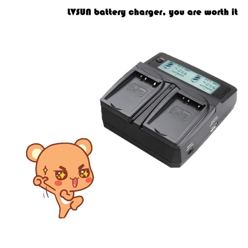 LVSUN Universal DC & Car Camera Battery Charger for BLS-5 BLS 5 batteries for Olympus BLS-5 OM-D E-M10 PEN E-PL2 E-PL5 E-PL6(China (Mainland))