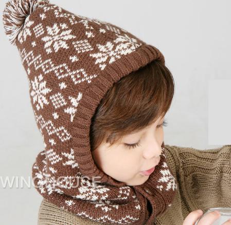 Free Shipping 2015 New Winter Hat Baby Kid Beanie ...