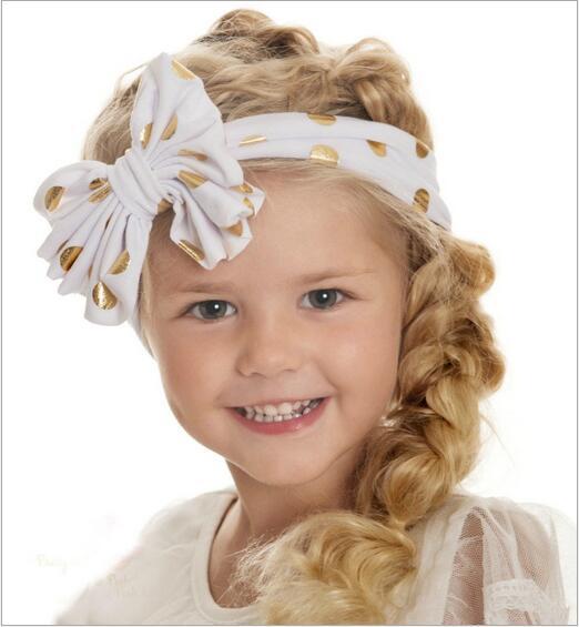 kids baby girl hair bow bands turban headband headbands accessories for girls elastic hair head band hairband ornaments headwear(China (Mainland))