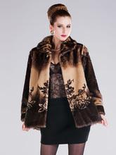 Middle-Aged And Old Women Fur Coat LUXURY FASHION MINK FUR COAT WOMEN WINTER COAT(China (Mainland))