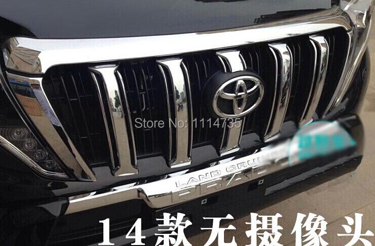 ABS Chrome Bumper Billet Grille Grill Insert 6pcs   for Toyota  PRADO FJ150<br><br>Aliexpress