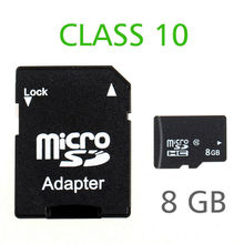 Hight speed real capacity C10 micro sd card 8gb CLASS 10 memory Card TF card(China (Mainland))