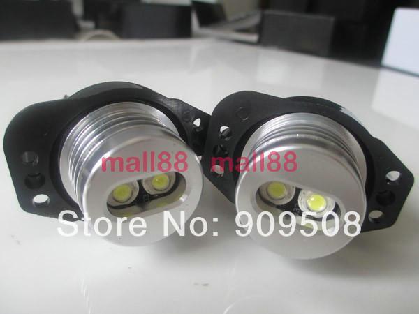6W LED ANGEL EYES For BMW E90 E91 Car headlight bulbs lamp(China (Mainland))
