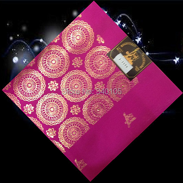 (HT29-17)Fuchsia!most popular wholesale African head tie for party !free shipping pretty style African gele for lady!(China (Mainland))