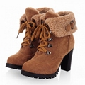 2013 Martin Boots Ankle Boots With Fur Inside 7Colors Size35-40