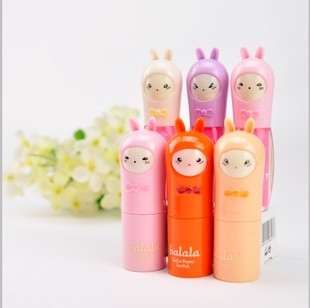 Free Shipping 10pcs/lot Balala hello rabbit bunny matt lipstick 8027 yeh lipstick(China (Mainland))