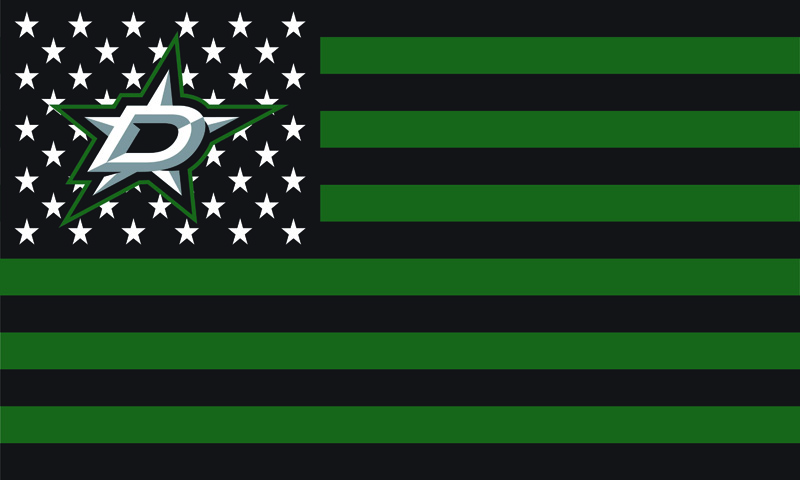 Dallas Stars USA Premium Wordmark Hockey Flag 3X5FT NHL Flags F-00005(China (Mainland))