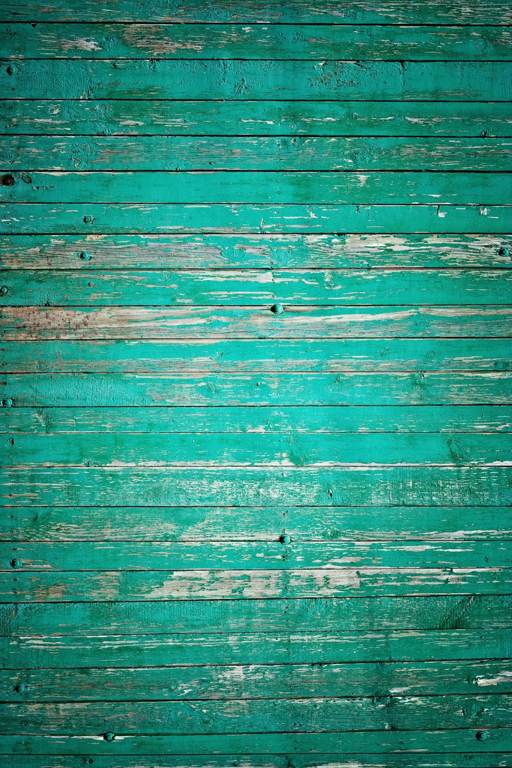 send rolled !  8X12  Turquoise Peeled Wood Backdrop - old planks - Printed Fabric Photography Background G0056<br><br>Aliexpress