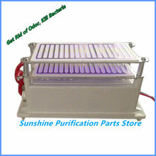 Low Noise 16GRH  Ozone Generator Ozone Sterilizer With Stainless Steel Electrode Excellent Heat Dissipation + Gift+Free Shipping(China (Mainland))