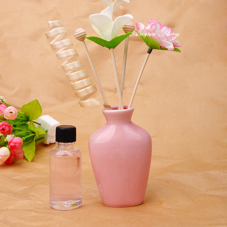 3pcs/lot 30ml Ceramic Dired Flower Perfume Diffuser Oil Essential Home Fragrance(China (Mainland))