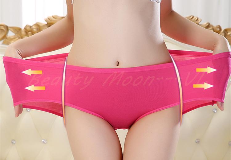 XXL bamboo fiber Female panties waist comfort antibacterial women s underwear FREE SHIPPING