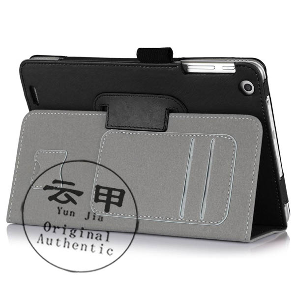 """For HP Compaq 8 HP 8 1401 7.85"""" Flip Cover Folio Folding Design Stand PU Leather Tablet Case For HP 8 7.85 inch(China (Mainland))"""