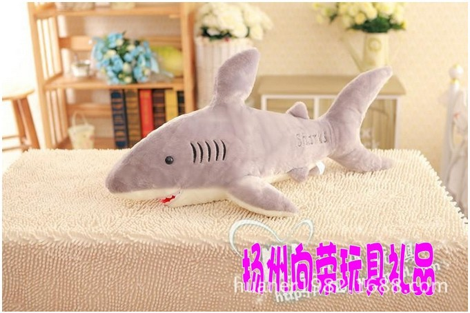 85cm--Whale shark toy doll baby cartoon big doll girlfriend gifts huge stuffed animal free shipping(China (Mainland))