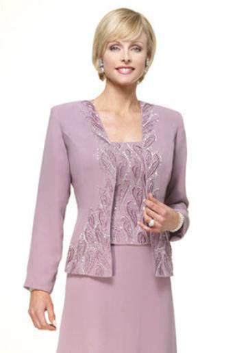 Buy elegant chiffon mother of the groom for Dress and jacket for wedding guest