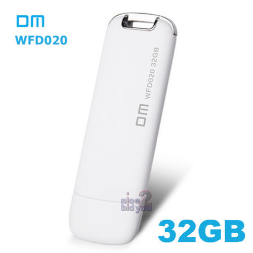 DM WFD020 32GB 64GB Wireless USB 3.0 Flash Drive Memory Mobile U Disk iOS Android PC(China (Mainland))