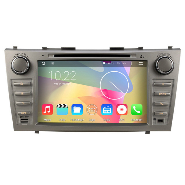 Car in-dash System for Toyota Camry 2007-2011 DVD GPS Android 5.1.1 Quad Core Stereo Radio Player Navigation Multimedia Receiver(China (Mainland))