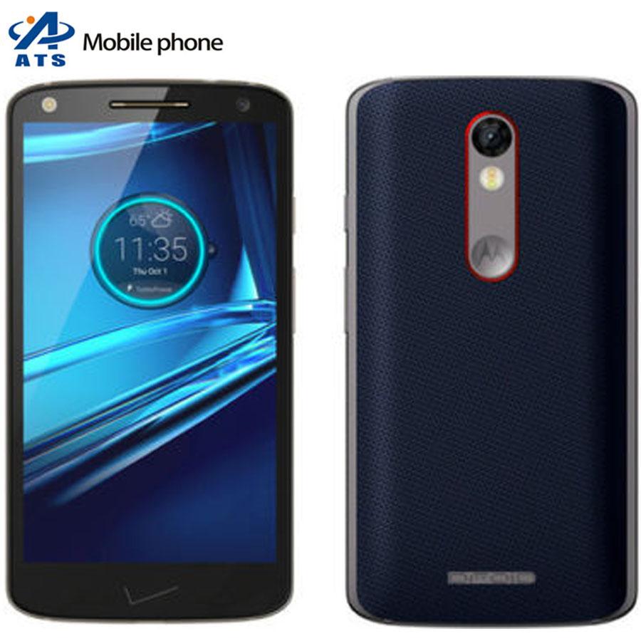 "Original Unlocked Motorola Droid Turbo 2 XT1585 Mobile Phone Andriod 5.4""Touch screen 32GB Rom 3GB Ram Quad-core cell phone(China (Mainland))"