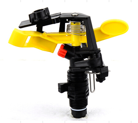 """3/4"""" Plastic Impact Sprinkler Rotary Rocker Arm Watering Nozzle For Garden and Lawn Irrigation PT-1206B(China (Mainland))"""