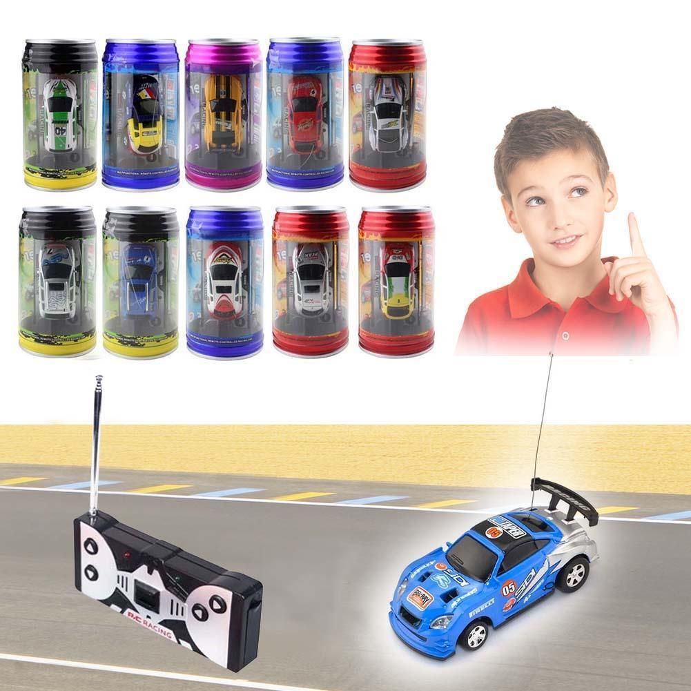 Coke Can Mini Speed RC Radio Remote Control Micro Racing Car Toy Gift kid New rc racing car antenna A676(China (Mainland))