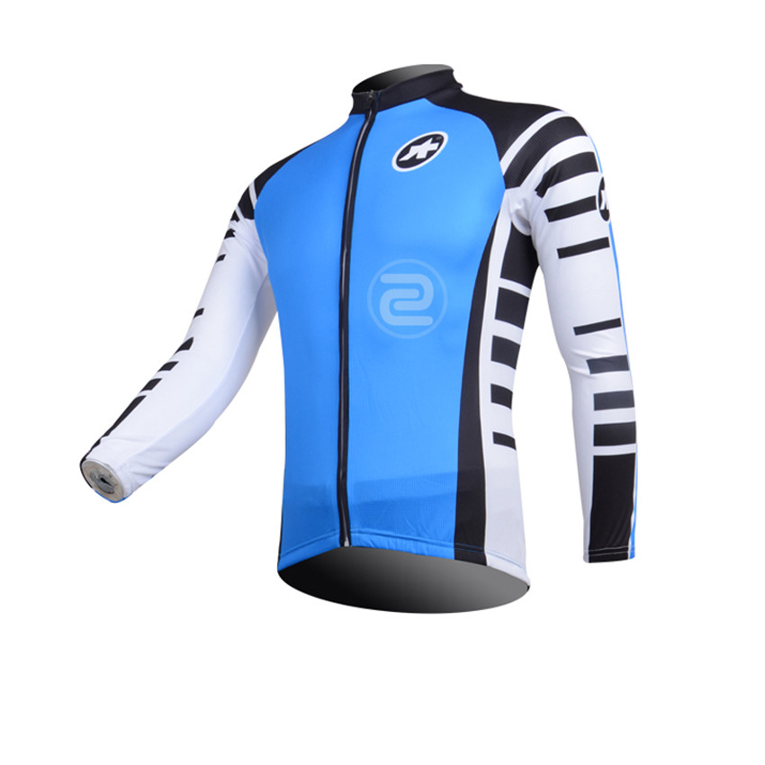 ASSOS Pro Brand Long Sleeve Cycling Jerseys maillot bicycle/sportwear cycle Clothing/mtb bike cheap clothes china sport jacket(China (Mainland))