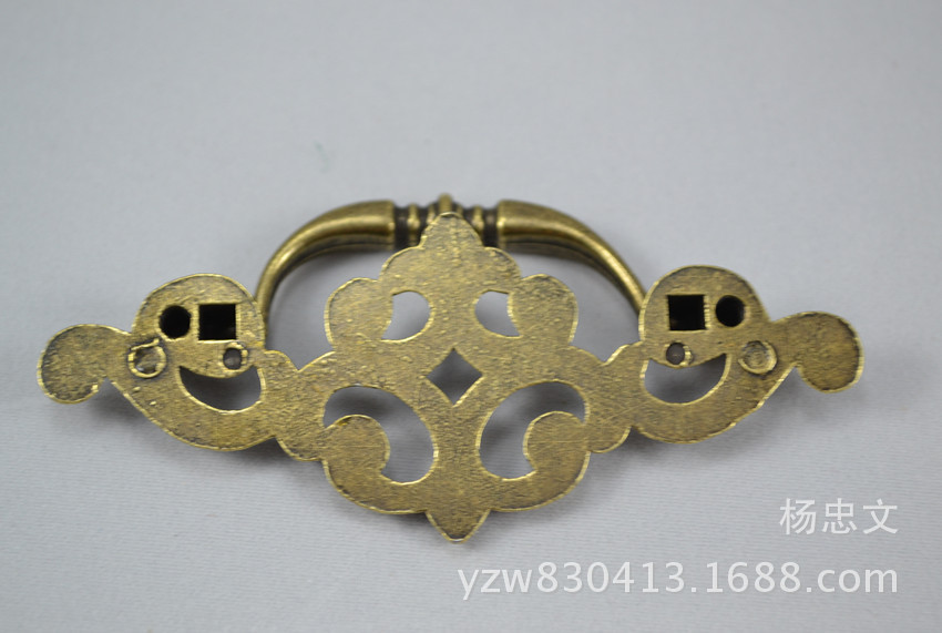 Supply Antique zinc alloy handle, classical furniture handle, cabinet drawer handles, twin-lift handle(China (Mainland))