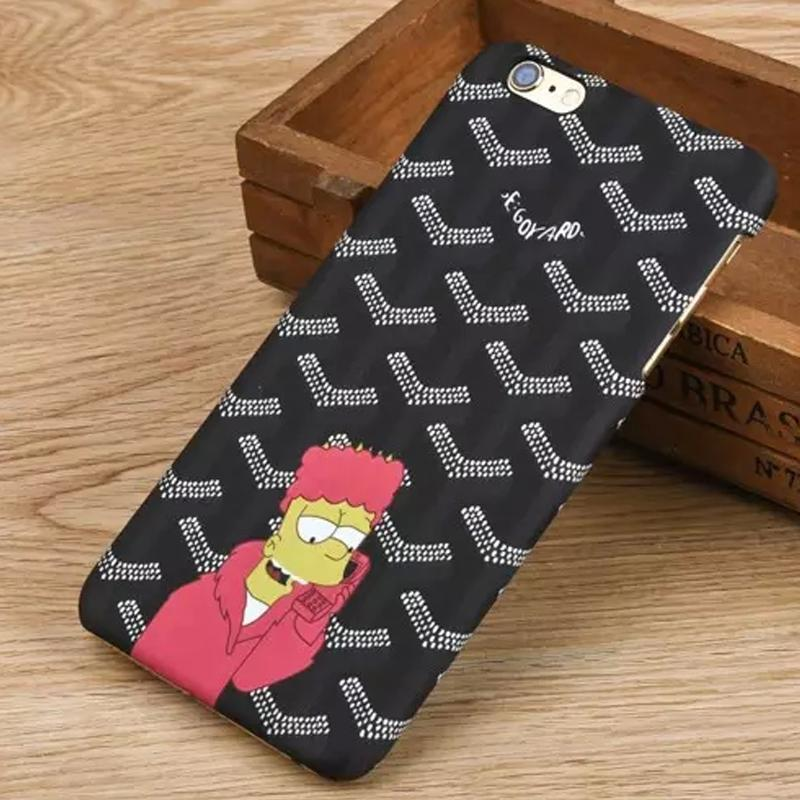 New Arrival Plastic Case For iPhone 6 Cute Cartoon Characters Back Cover Fundas Para For iPhone 6 4.7inch Black 3 Colors(China (Mainland))