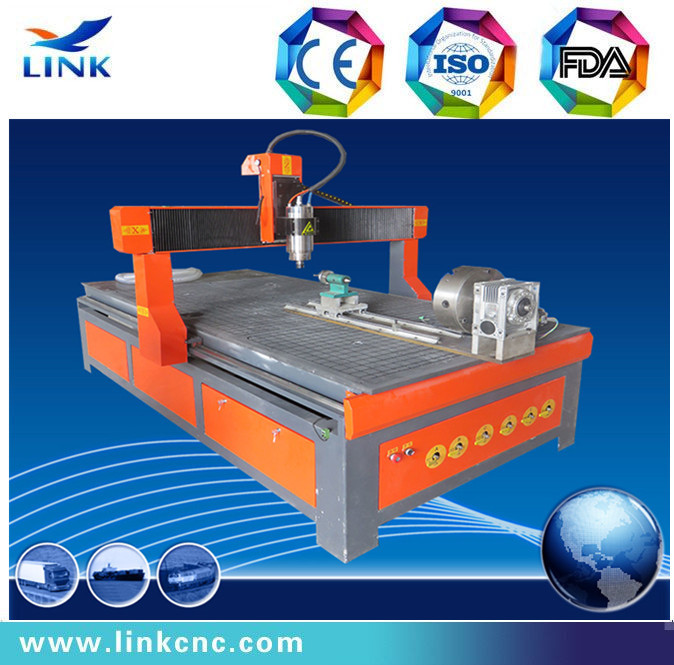 CE and hot sale 1224 with rotary wood cnc router & cnc machine tool(China (Mainland))
