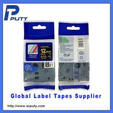 12mm tape Compatible TZ tape TZ 334 TZ-334 label tape